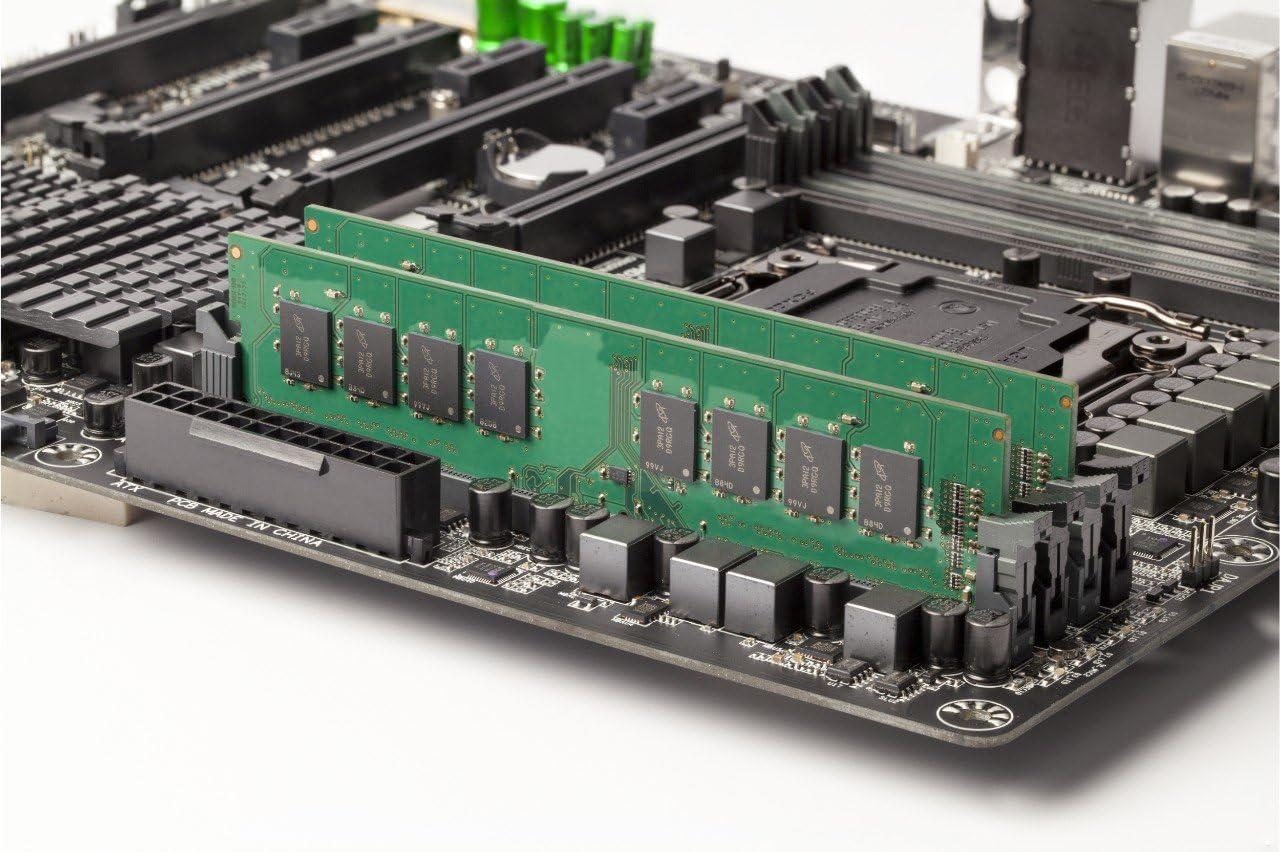 CT4K8G4DFS8266 DDR4 2666 MT//s 8GBx4 Crucial 32GB Kit PC4-21300 SR x8 DIMM 288-Pin Memory