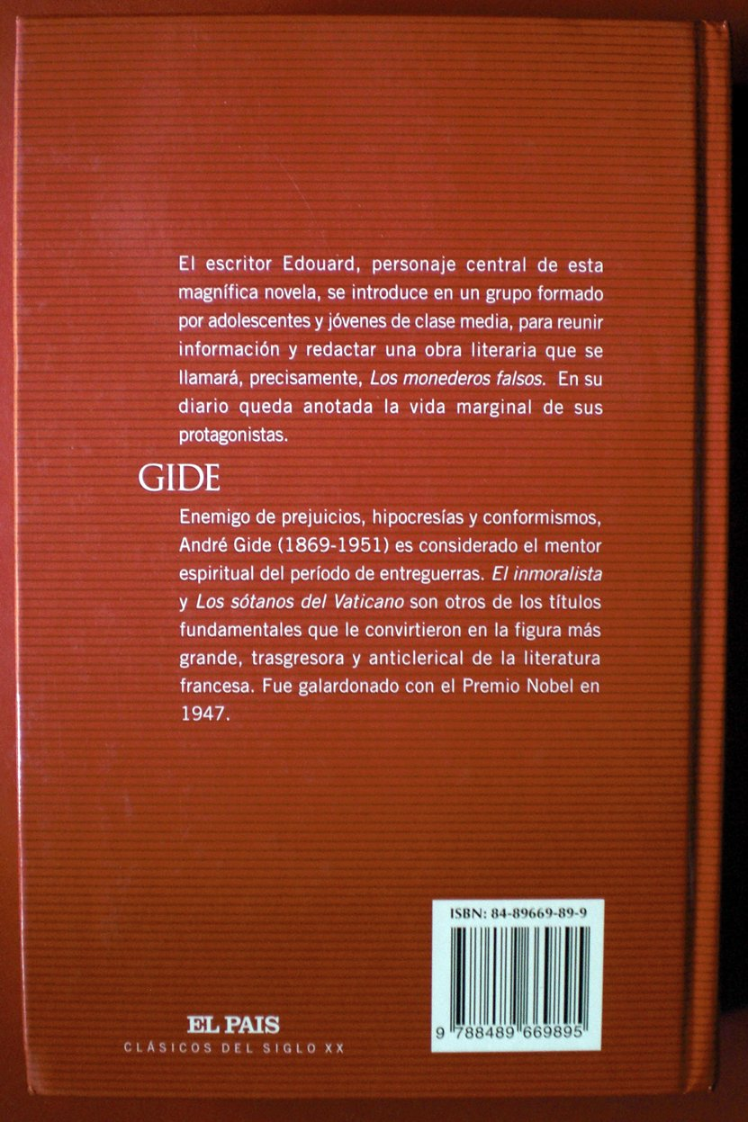 Los monederos falsos: Amazon.es: André Gide: Libros