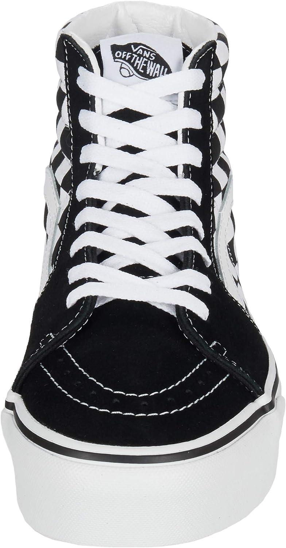 Vans SK8-Hi Platform Ladies Trainers Black Blanc