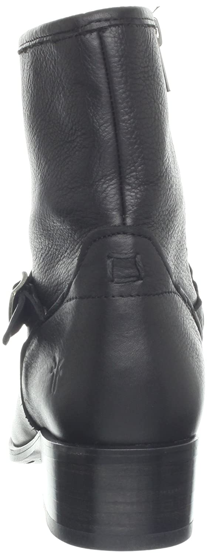 FRYE Women's Lynn Strap B(M) Short Boot B00BG0H4UW 6.5 B(M) Strap US|Black 6de3de
