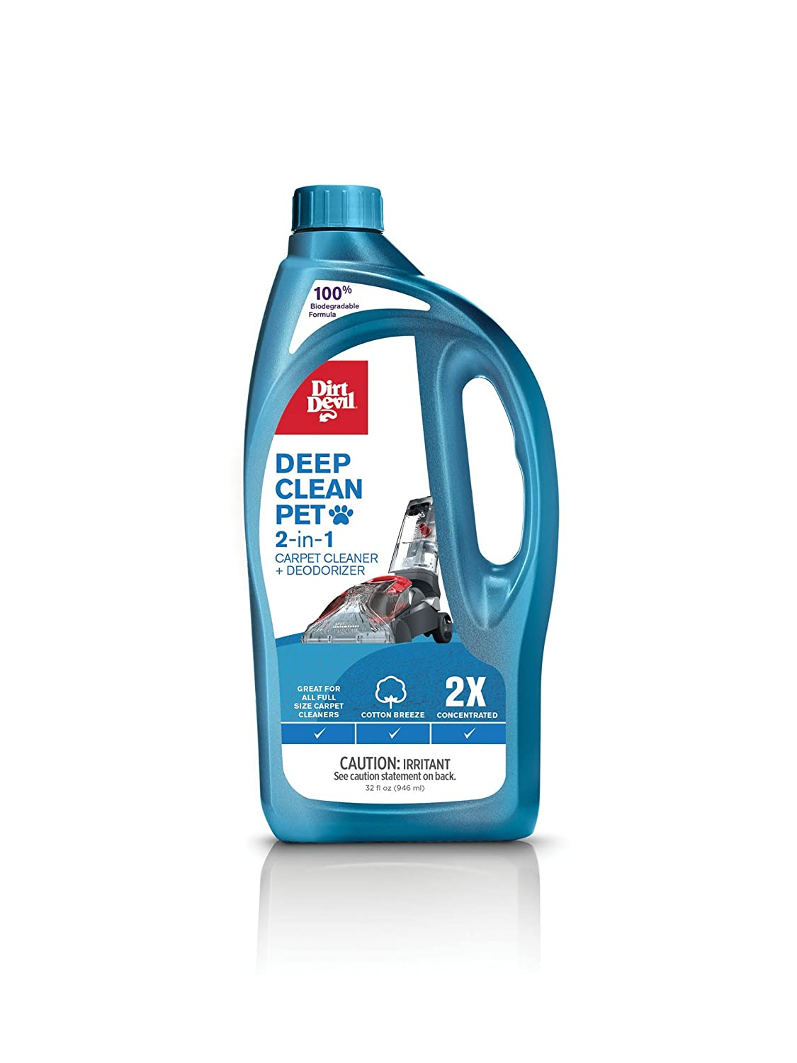 Dirt Devil AD30055 Deep Clean Pet 2X Solution Carpet Washer Hoover
