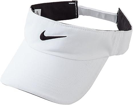 Nike Women's Tech Visor WHITE/BLACK