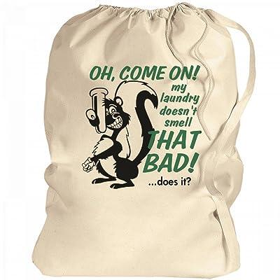 Stinky Laundry Denial: Canvas Laundry Bag