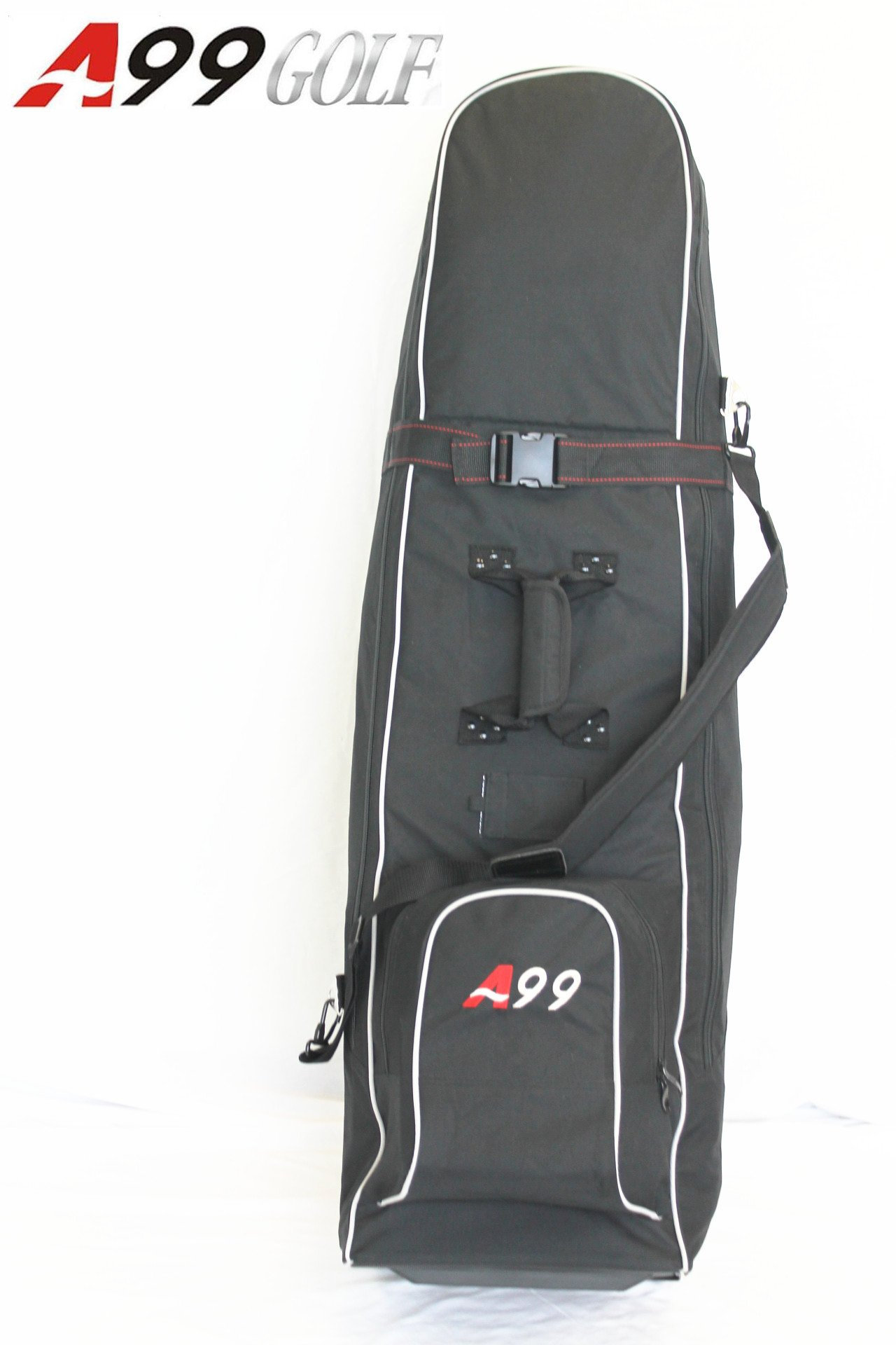 A99 Golf NEW T04 Black Travel Cover Whieeled Bag by A99 Golf (Image #2)