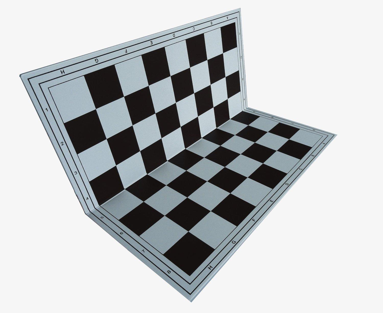 schach queen E110 Chess Boards Field Size 57 Mm,Klappbar, Black and White EuroChessInternational GmbH & Co. KG schach queen_E110