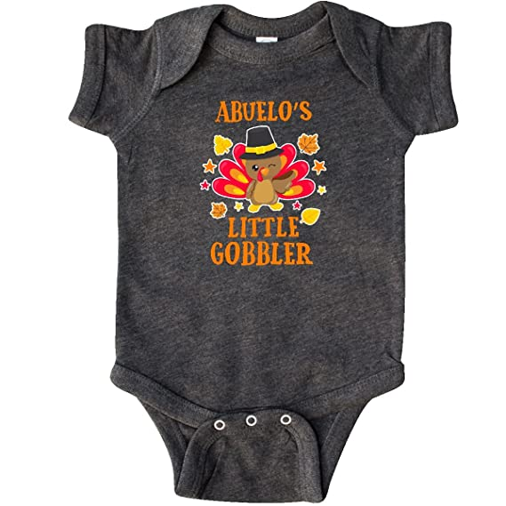 Amazon.com: inktastic Abuelos Little Gobbler with Turkey and ...