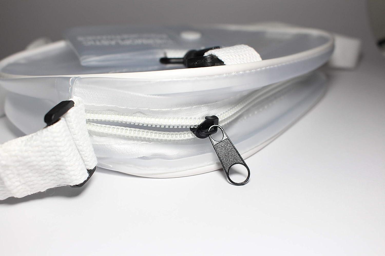 AENO Womens Transparent Crossbody Shoulder Bag with Adjustable Strap