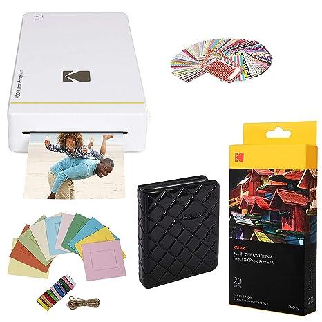 Kodak- Paquete de Inicio de Impresora Kodak Mini + 20 Hojas ...