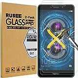 [2 Pack] Huawei Honor 6X Pellicola Protettiva, Rusee Pellicola Protettiva in Vetro Temperato Protezione Dello Schermo Protettore Glass Screen Protector Film per Huawei Honor 6X - Trasparenza ad alta definizione, Anti-riflesso, Anti-Bolla, Durezza 9H, Bordi Arrotondati da 2.5D