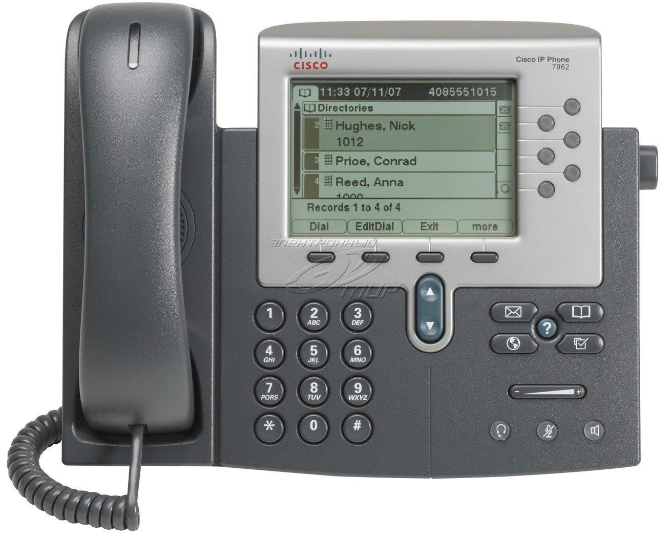 Amazon.com : Cisco 7962G Unified IP Phone : Voip Telephones : Electronics