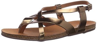 wholesale dealer 9b9ea 4f757 Apple of Eden Women's Erin Fashion Sandals Gold Gold (Gold ...