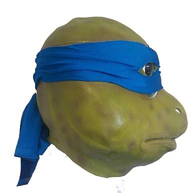 De cabeza completa Deluxe de látex de goma Teenage Mutant ...