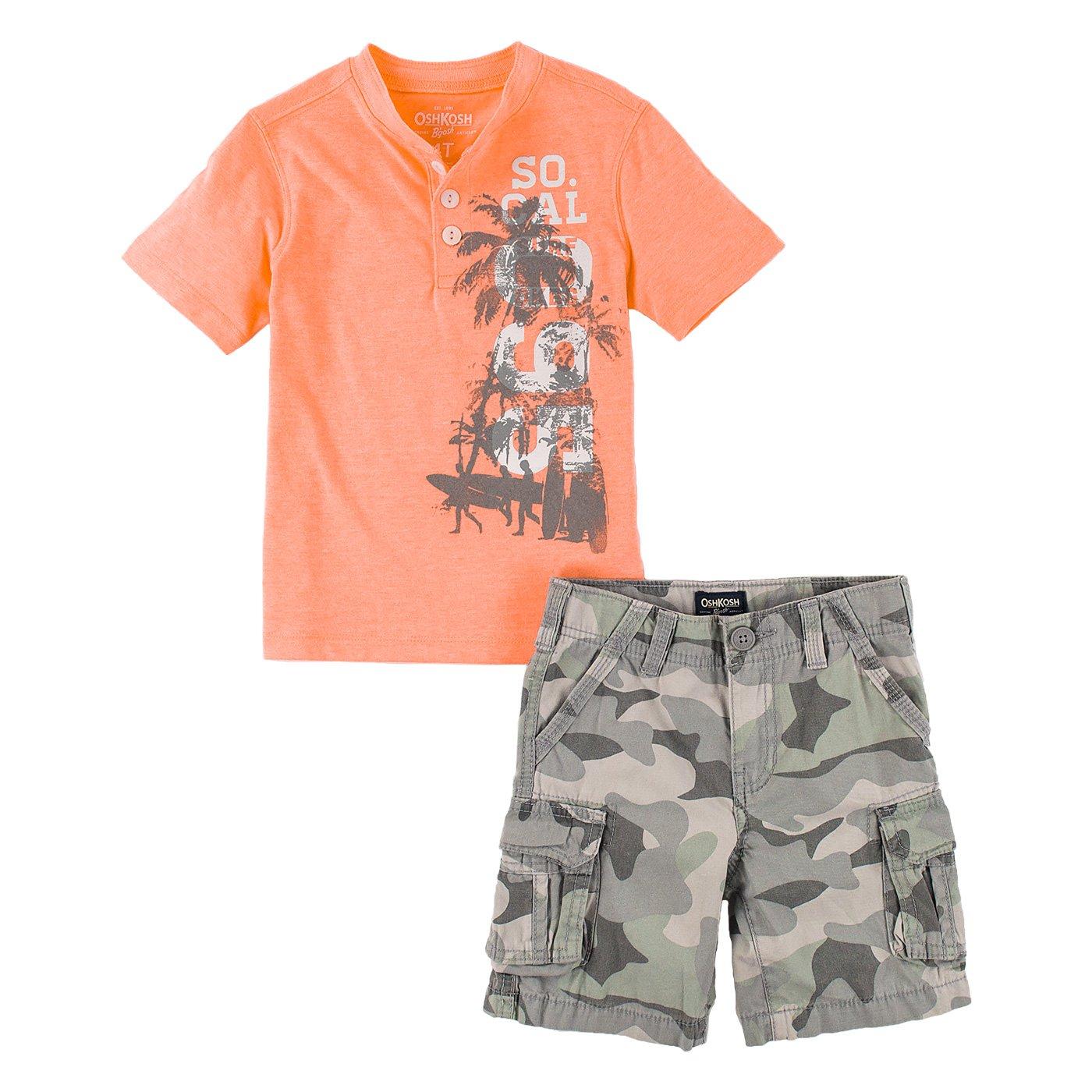 OshKosh Bgosh Little Boys 2-Piece Shorts Set