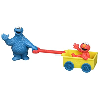Decopac Sesame Street Let's Play DecoSet Cake Decoration Topper Elmo Cookie Monster: Toys & Games