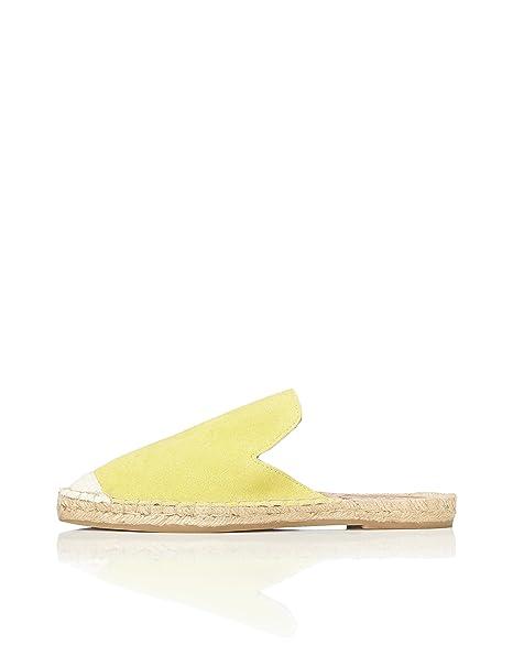 3e644534917 FIND Alpargata Destalonada de Ante Mujer  Amazon.es  Zapatos y complementos