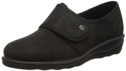Varomed - Zapatos de tela unisex, Negro, 40