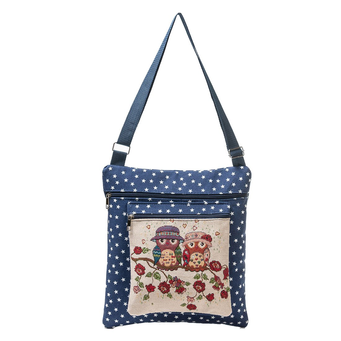 Dunland Women Shoulder bag Crossbody Collection Messenger Owl Stars Originality Travel Classic