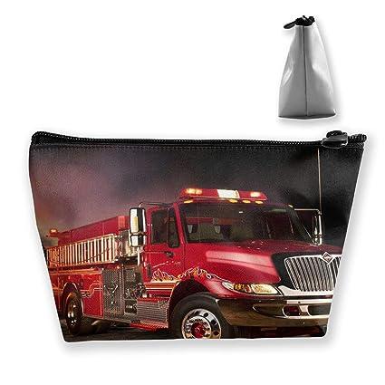 Camión de bomberos Papel tapiz Bolsa de lápiz Bolsa con ...