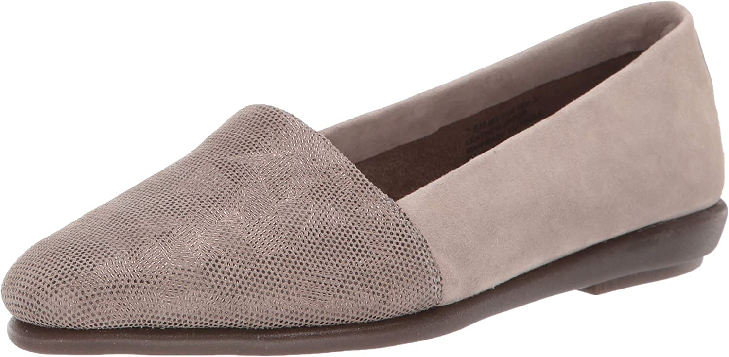 Aerosoles - Women's MS Softee Moccasin - Casual Slip-On Shoe with Memory Foam Footbed