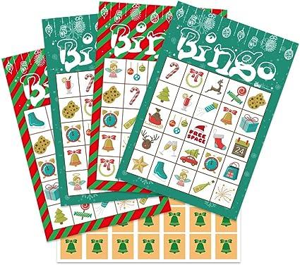 Christmas Bingo For Adults