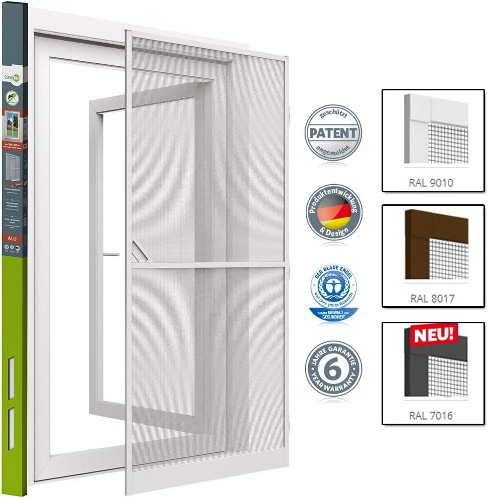 Mosquitera proLINE para puertas con marco de aluminio - adaptable a cualquier puerta - 100x215 cm - Blanco: Amazon.es: Bricolaje y herramientas