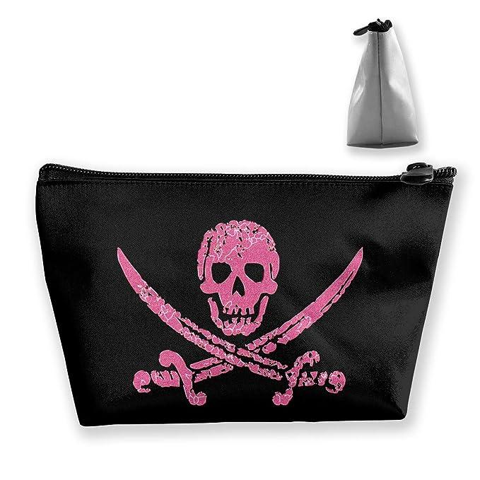 f77ec804c98f Amazon.com: Wodehous Adonis Pink Pirate Skull And Crossbones ...