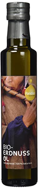 Fandler Bio-Erdnussöl, 1er Pack (1 x 250 ml)