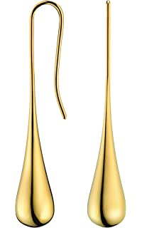 Calvin klein gold earrings