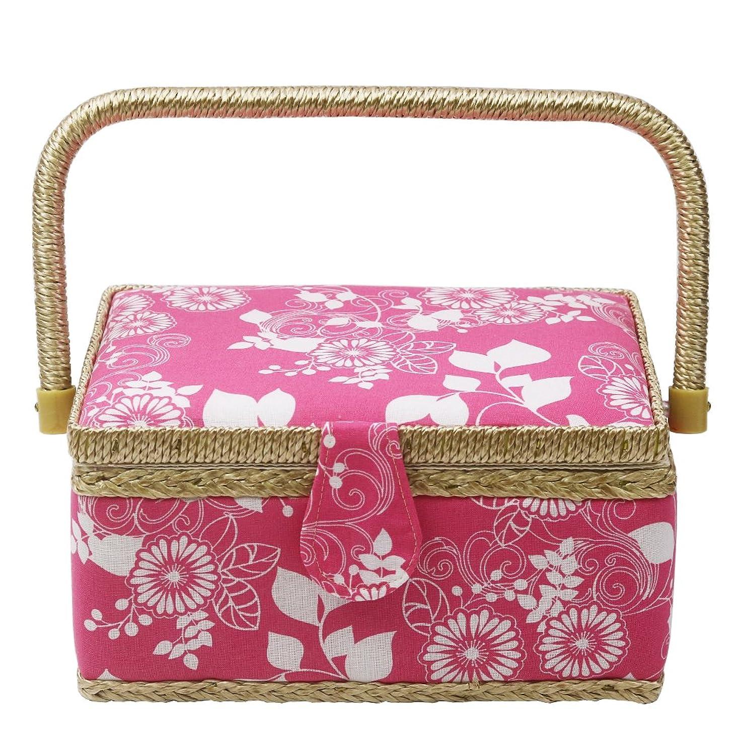 水差し妥協慣習Luxja 裁縫バッグ ソーイングボックス 【※バッグのみの商品です】 裁縫箱 L,パープル