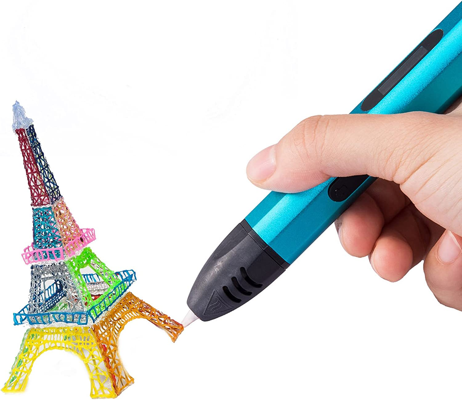 Green Arts 3D Printing Pen for Kids Crafts Easy to Use 1.75mm ABS and PLA Compatible ,Educational STEM Toy for Boys /& Girls,3D Drawing Pen to Drawing