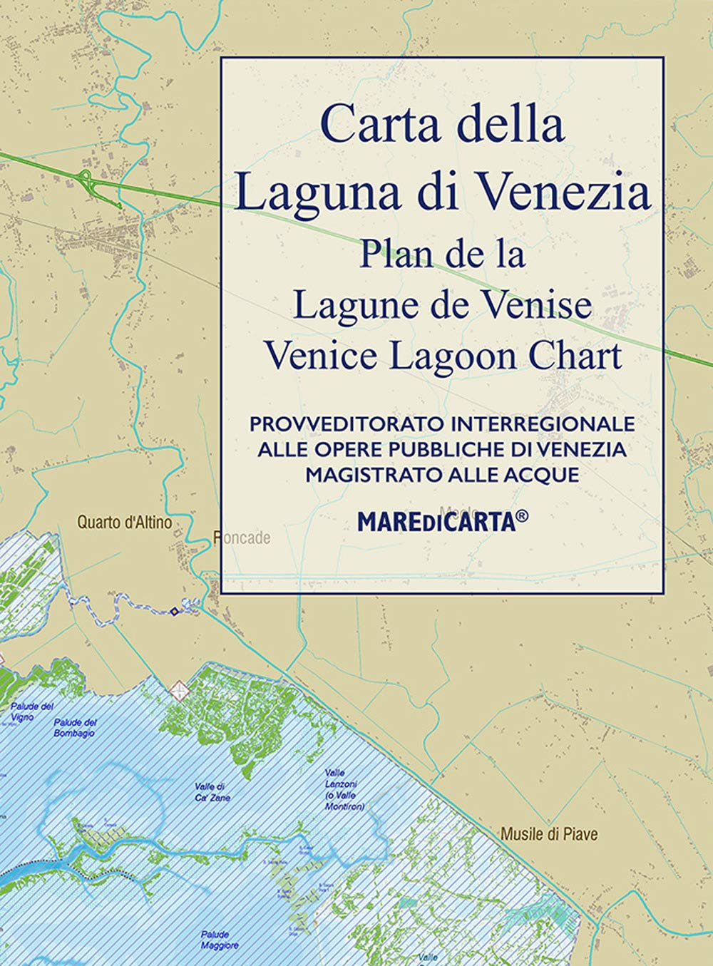 Cartina Laguna Di Venezia.Amazon It Carta Della Laguna Di Venezia Aa Vv Libri