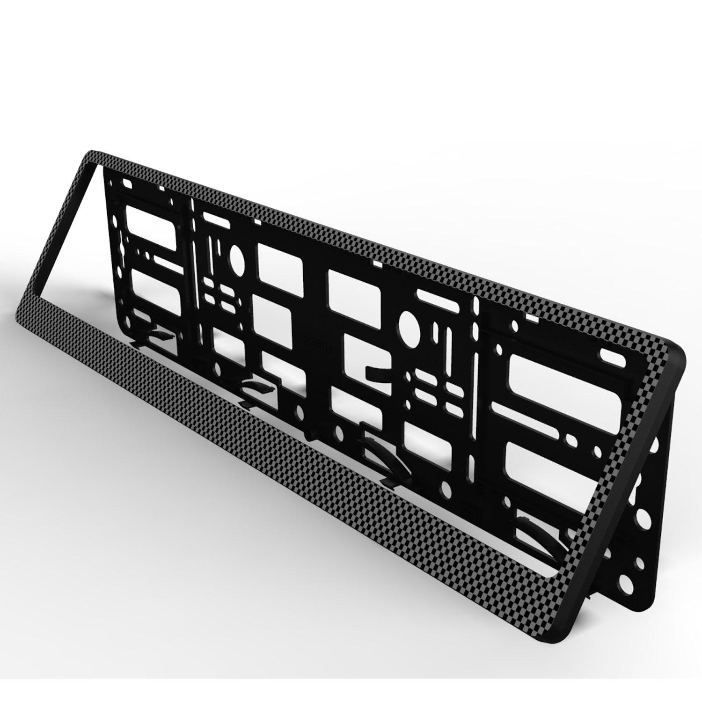 TAPORT NPSCARBONbmw Registration License Number Plate Carbon Surround Holder Frame