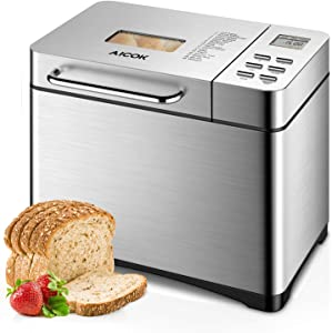 Aicok Stainless Steel Bread Machine