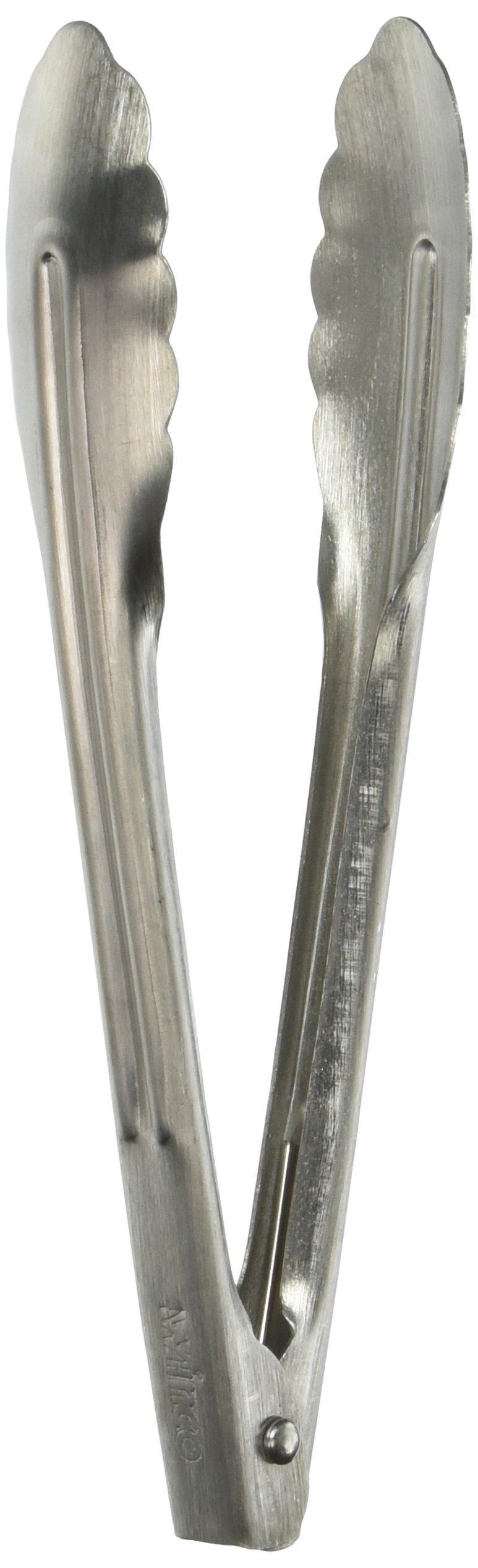 Winco UT-7 Coiled Spring Heavyweight Stainless Steel Utility Tong, 7-Inch