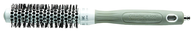 tourmaline-ion et poils en nylon Olivia garden ceramic antistatique ion brosse thermale ronde diam/ètre 55mm