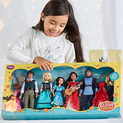 Elena of Avalor Deluxe Classic Doll Gift Set Features Elena Mateo Isabel Naomi and Gabe: Toys & Games