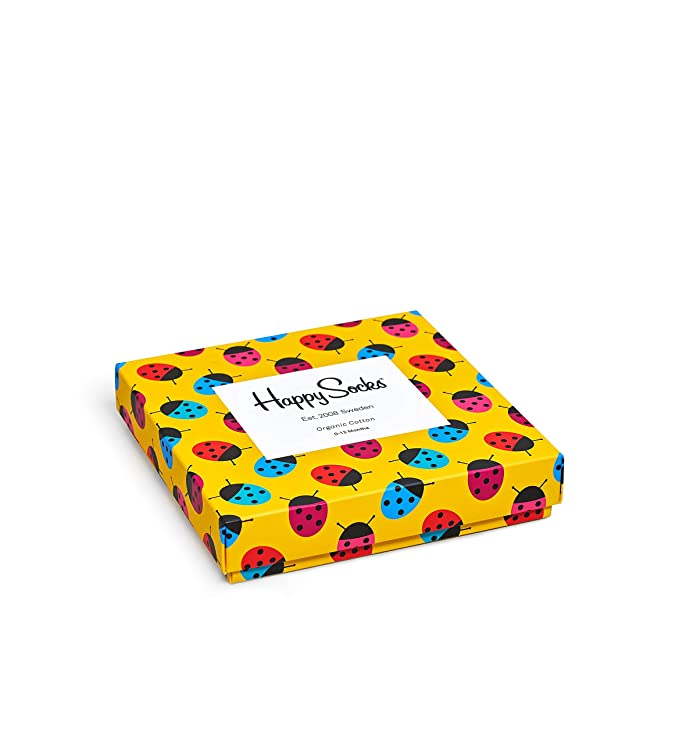 Happy Socks Babysocken KID FRUIT GIFT BOX XKID09-2000 Gelb
