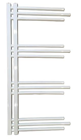Diseño baño Radiador NERISSA Blanco 1400 x 600 mm. calentador toallas: Amazon.es: Bricolaje y herramientas