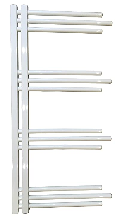 Diseño baño Radiador NERISSA Blanco 1000 x 500 mm. calentador toallas