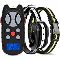 Flittor Shock Collar for Dogs, 2019 Newest Dog Training Collar, Rechargeable Dog Shock Collar…