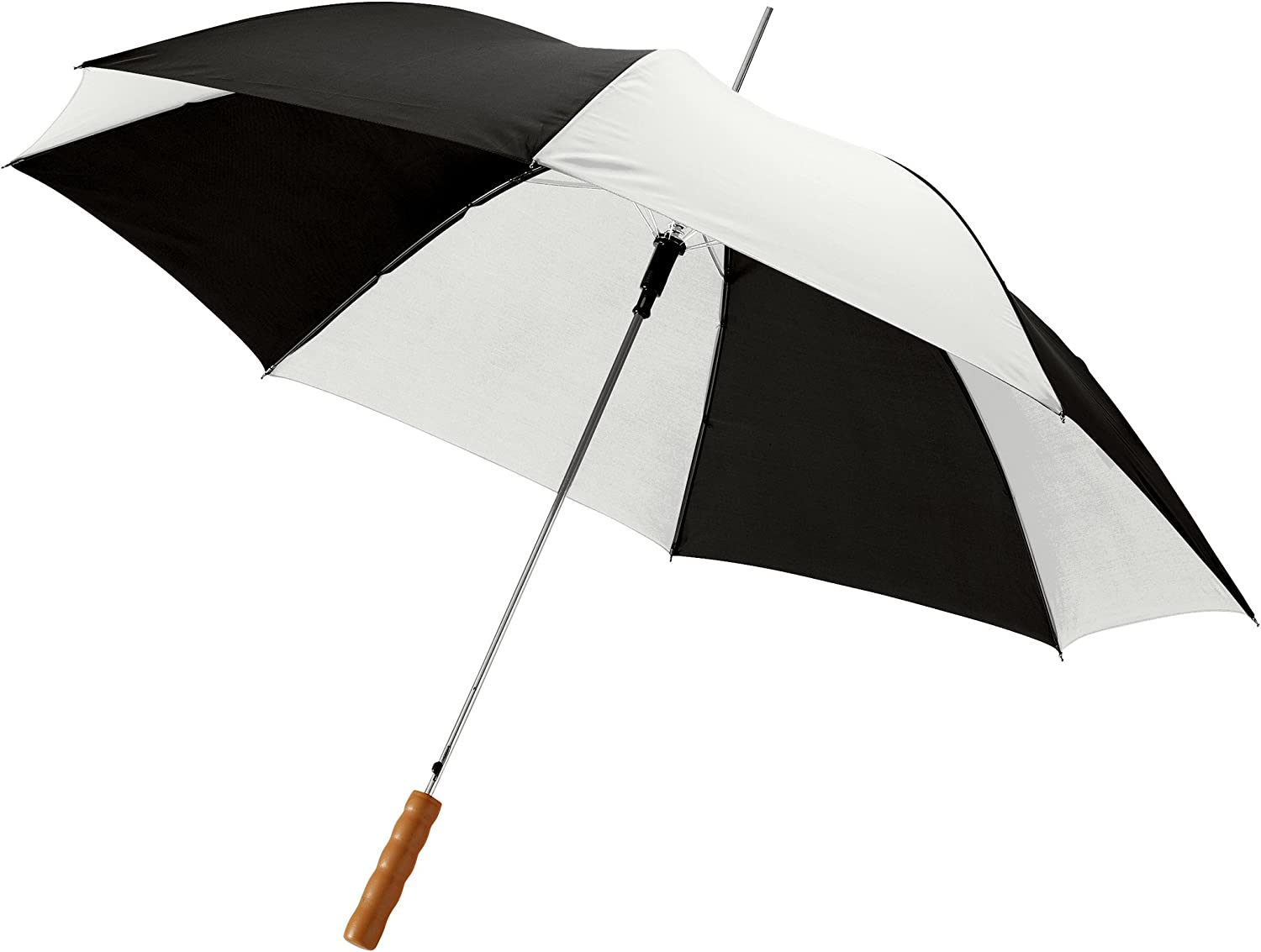 32.7 x 40.2 inches Bullet 23in Lisa Automatic Umbrella Green//White