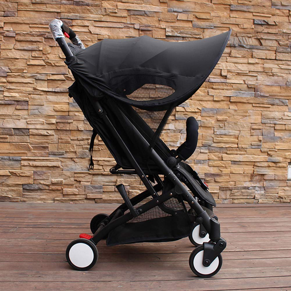 ZLMI Baby Stroller Sunshade Canopy, Universal Baby Stroller Sun Shade Awning, Toddler Pushchair Sun Shade Canopy Cover,UV Protection Infant Trolley Parasols by ZLMI (Image #7)