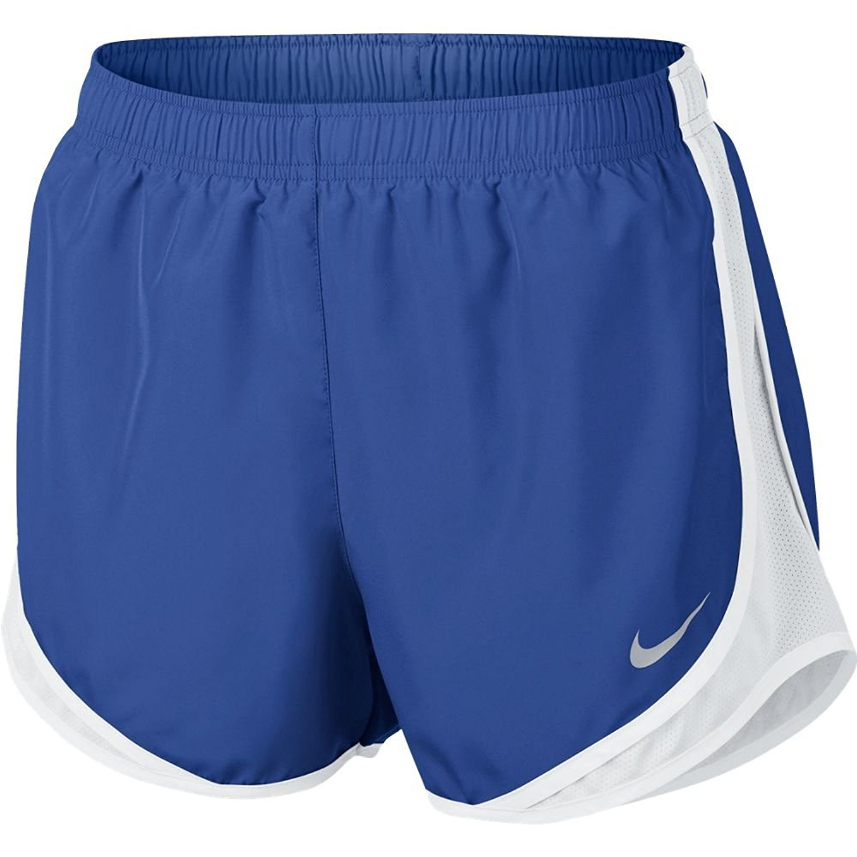 bleu (Game Royal   blanc   blanc   Wolf gris) Medium Nike Tempo W NK Dry Pantalon Court, Femme
