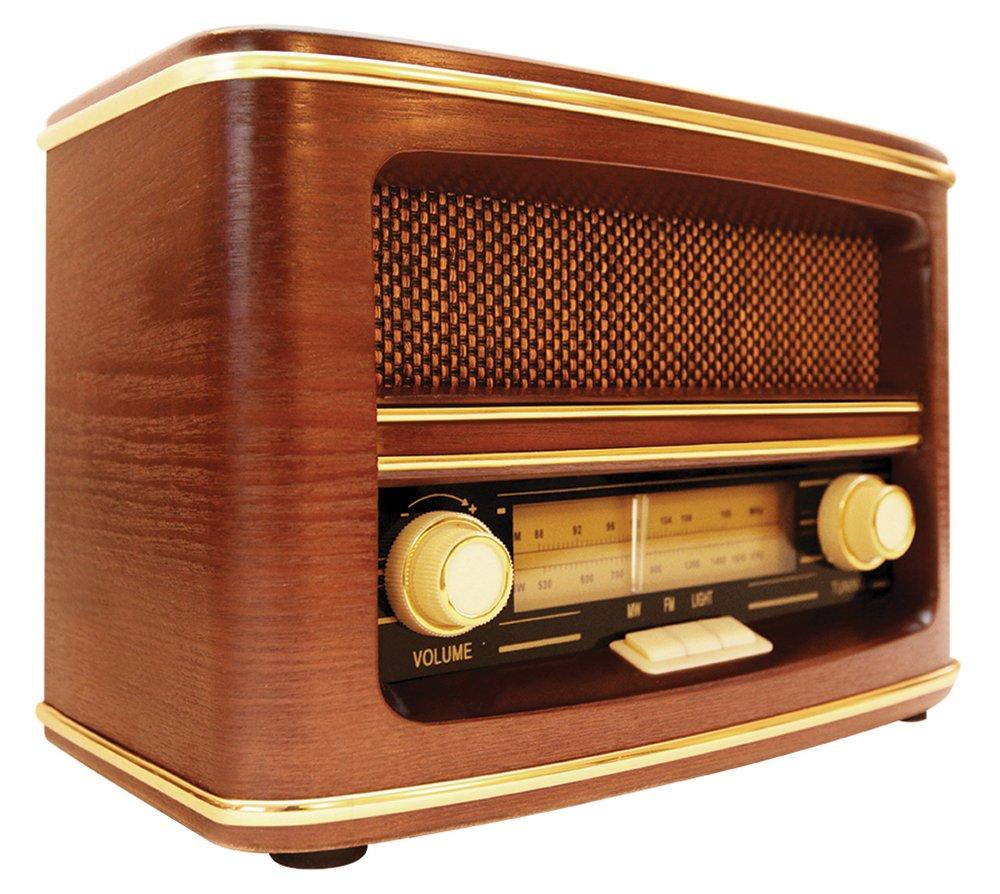 Personal, Anal/ógica, FM,MW, 88-108 MHz, Anal/ógica, Marr/ón GPO Retro Winchester Analogue Radio