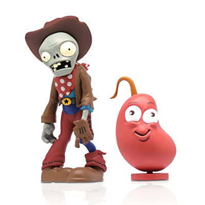 """Zoofy International 3"""" Cowboy Zombie Action Figure with Chili Bean: Toys & Games"""