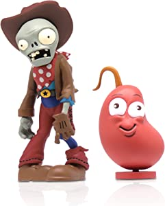 """Zoofy International 3"""" Cowboy Zombie Action Figure with Chili Bean"""