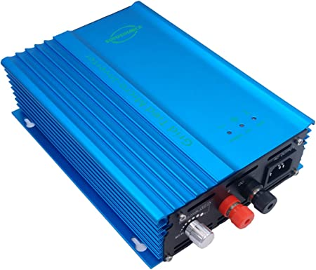Amazon.com: SOYOSOURCE 500W Pure sine Wave Grid tie Inverter forr Solar  Panels Voc-Input:26V-45V vmp 24v-35v or for 24V batterty Discharge Output  Power Adjustable Home Solar System (500W-ADJ-DC:26V-45V): Garden & OutdoorAmazon.com