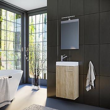 Waschtischunterschrank Gäste Wc badmöbel set gäste wc gäste bad waschtischunterschrank spiegel mit