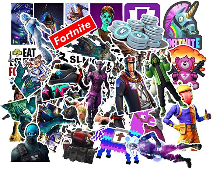 Ratgoo Gaming Fan Favor Stickers, 110-Pack Vinyl Waterproof Decals for Computer Laptop Xbox Game Console Hydroflask Luggage Case Bike Motorcycle Car Water Bottle, Gift Choice for Game Fans Party Teens