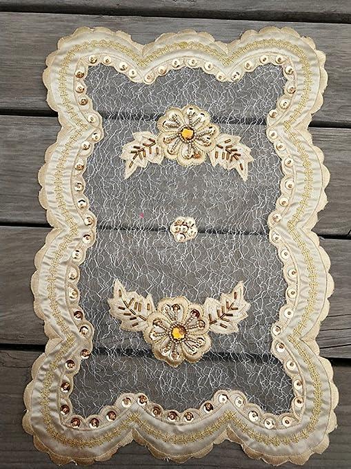 ZHFC - Alfombrilla de bordado para decoración de toallas, 28 x 42 cm, 1